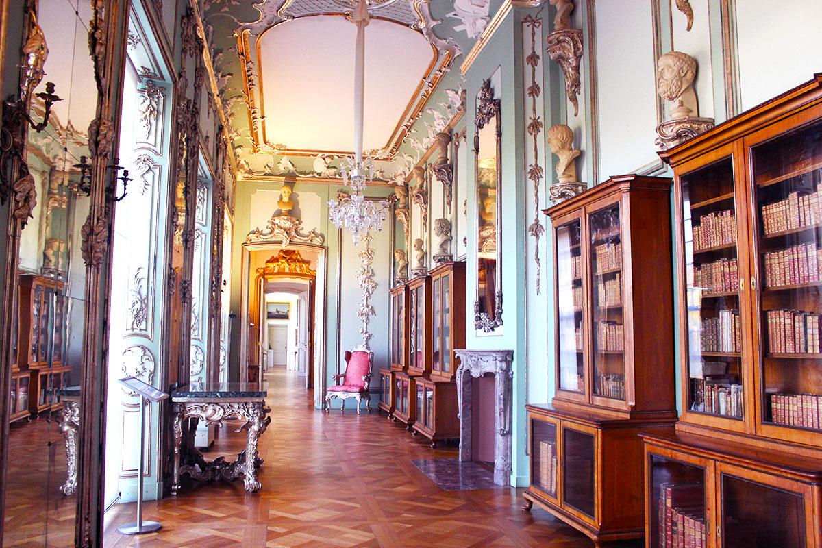 Schloss Charlottenbeurg - Bibliothèque