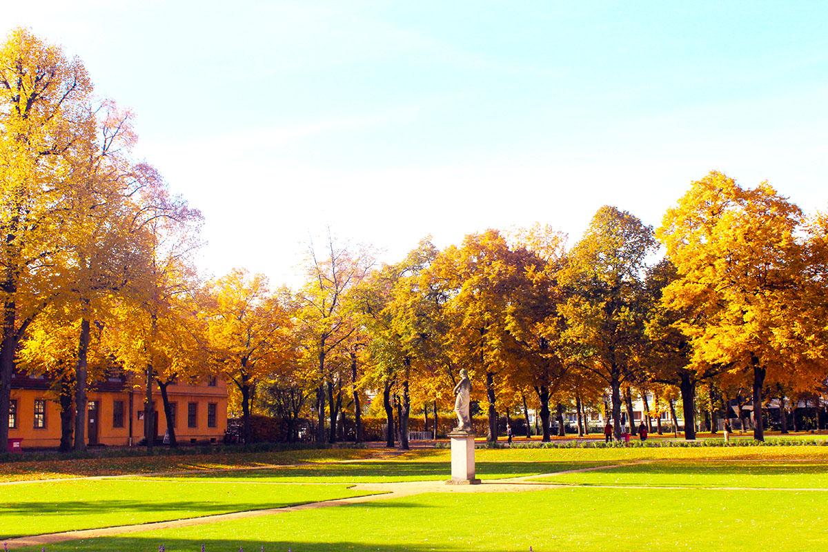 Parc du Schloss Charlottenbeurg