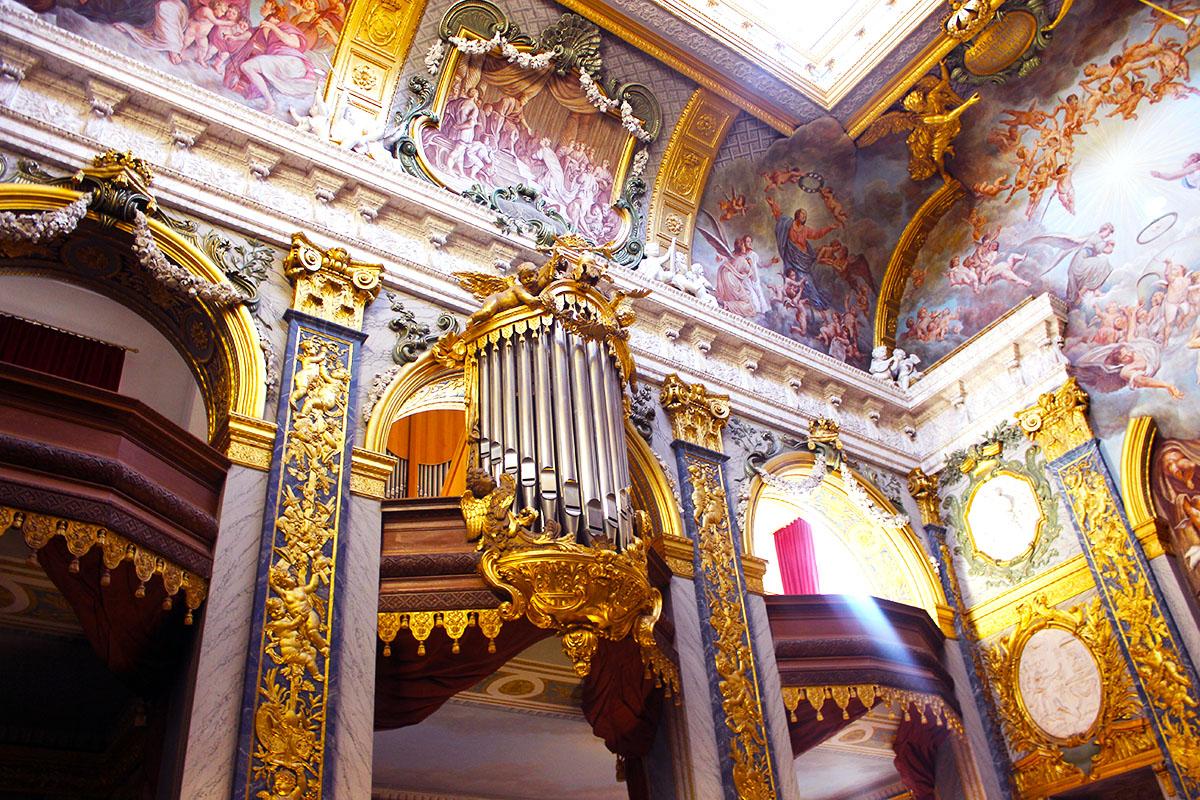 Schloss Charlottenbeurg - La Chapelle